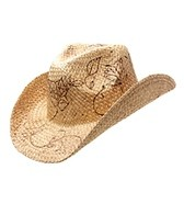 Peter Grimm Burnt Roses Cowboy Hat