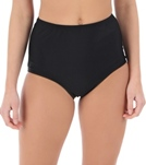 Ceeb Solid Side Seam Brief Bottom
