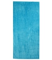 Royal Comfort Silky Velour Beach Towel 32 x 64