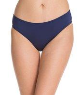 Jag Solid Full French Bikini Bottom