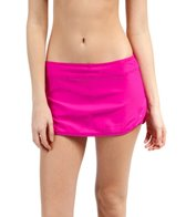 Next Good Karma Solid Lotus Skort Bikini Bottom