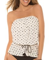 Eco Swim Eco Galaxy Gathered Bandeau Top