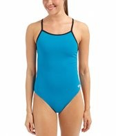 Speedo Flipturns Solid Reversible Fresh Back