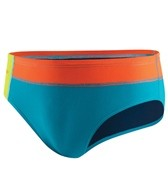 Speedo Flipturns Solid Colorblock Brief