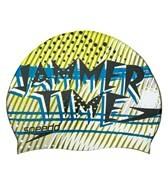 Speedo Jammer Time Silicone Swim Cap