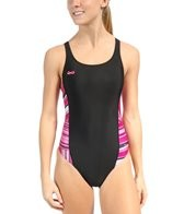 Speedo Rainbow Stripe BS4H Pulse Back