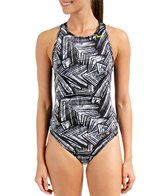 Nike Swim Scatter Brain Water Polo High Neck Tank