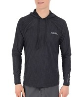 Xcel Men's Heathered VentX Hoodie Surf Shirt