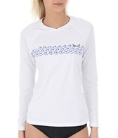 Xcel Women's Floral Band L/S Surf Tee