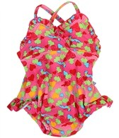 iPlay Girls' Ultimate Swim Diaper Tanksuit
