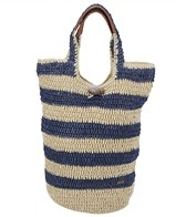 Sun N Sand Sailor Girl Crochet Large Scoop Tote