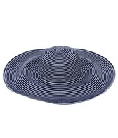 Sun N Sand Vella XLarge Brim Two Tone Ribbon Sun Hat