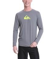Quiksilver Men's Solid Streak L/S Relaxed Fit Surf Shirt