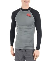 Quiksilver Men's Cross Up L/S Fitted Rashguard