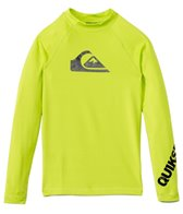 Quiksilver Boy's All Time L/S Fitted Rashguard