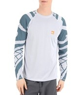 Quiksilver Waterman's Pacific L/S Relaxed Fit Bamboo Mesh Surf Shirt