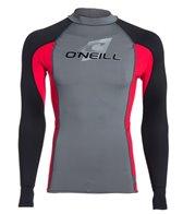 O'Neill Men's Skins L/S Crew Rashguard