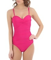 Miraclesuit Solid Barcelona Bandeau One Piece