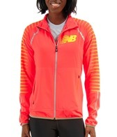 New Balance Women's Hi-Viz Beacon Running Jacket