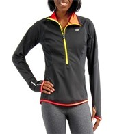 New Balance Women's Windblocker Running 1/2 Zip