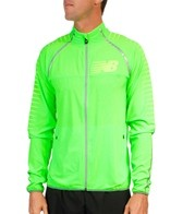 New Balance Men's Hi-Viz Beacon Running Jacket