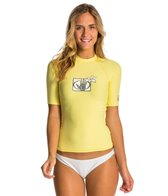 Body Glove Women's Basic S/S Fitted Rashguard