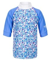Platypus Girls' Mermaid Swirl S/S Rashguard (2-8)