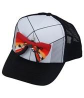 Quiksilver Boys' Diggler Bow Tie Trucker Hat (Kids)