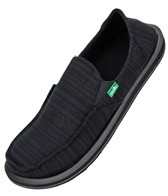 Sanuk Men's Mako Fleece Lined Slip Ons