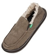 Sanuk Men's Vagabond Chill Fleece Lined Slip Ons