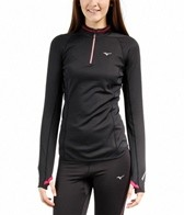 Mizuno Women's Breath Thermo Running Half Zip