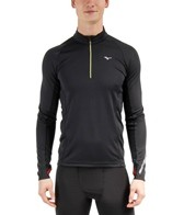 Mizuno Men's Breath Thermo Running Half Zip