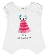 Roxy Girls' Sea-ing Dreams Owl S/S Tee (4-7)