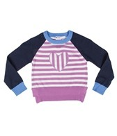 Roxy Girls' Hear It Loud Heart L/S Sweater (4-7)