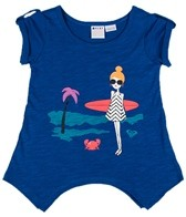 Roxy Girls' Sea-ing Dreams Surfer Girl S/S Tee (4-7)