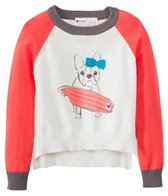 Roxy Girls' Hear It Loud Dog L/S Sweater (4-7)