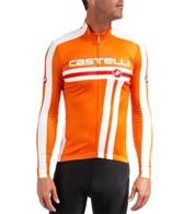 Castelli Men's Free L/S FZ Cycling Jersey