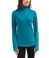 Icebreaker Women's Dart Long Sleeve Running Half Zip