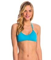 Lo Swim Women's Training Bikini Swimsuit Top w/ Free Hair Tie