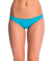 Lo Swim Women's Training Bikini Swimsuit Bottom w/ Free Hair Tie