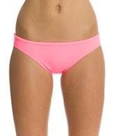 Lo Swim Women's Training Bikini Swimsuit Bottom w/ Free Hair Tie
