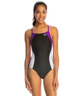 Adidas Women's Arc Infinitex Vortex Back One Piece Swimsuit