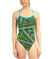 Adidas Women's LC Split Back One Piece Swimsuit