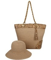 Physician Endorsed Anaconda Straw Bag & Hat Set