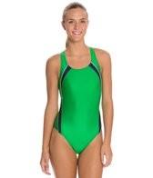 Speedo Taper Splice Pulse Back Swimsuit