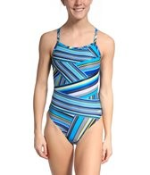 Speedo Rainbow Stripe Flyback