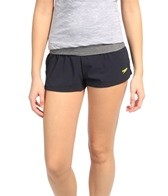 Speedo Women's Heathered 4 Way Stretch Short