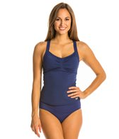 Speedo Keyhole Back Tankini Top