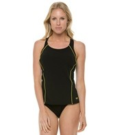 Speedo Watergrid Splice Tankini Swimsuit Set