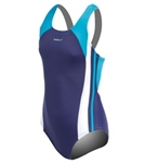 Speedo Girls' Solid Infinity Splice One Piece (7-16)